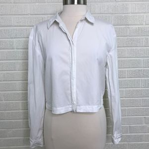 The Fisher Project Eileen Fisher White Button Down